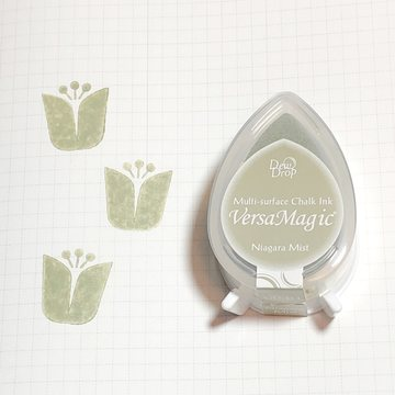 Tsukineko Versa Magic Chalk Ink Pad Dew Drop - Niagara Mist