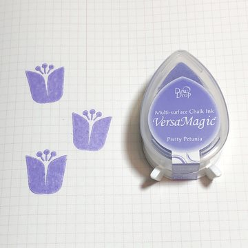 Tsukineko Versa Magic Chalk Ink Pad Dew Drop - Pretty Petunia