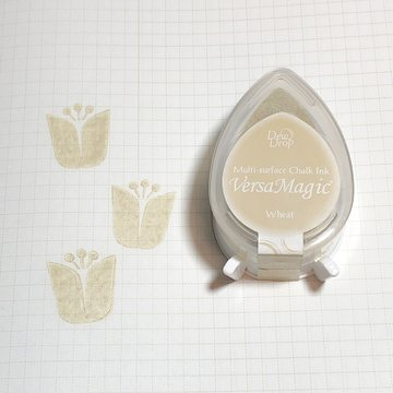 Tsukineko Versa Magic Chalk Ink Pad Dew Drop - Wheat