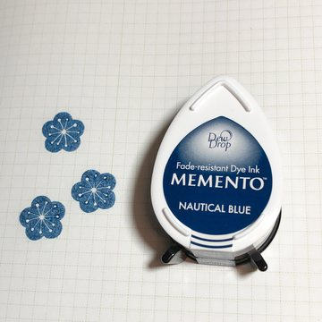 Tsukineko Memento Dew Drop Ink Pad - Nautical Blue