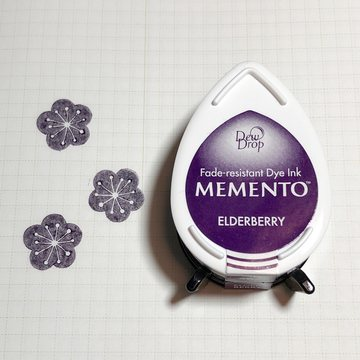 Tsukineko Memento Dew Drop Ink Pad - Elderberry