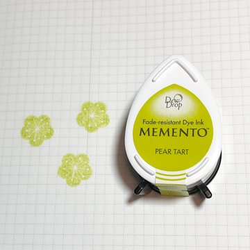 Tsukineko Memento Dew Drop Ink Pad - Pear Tart