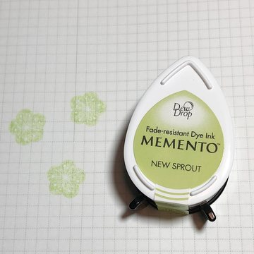 Tsukineko Memento Dew Drop Ink Pad - New Sprout