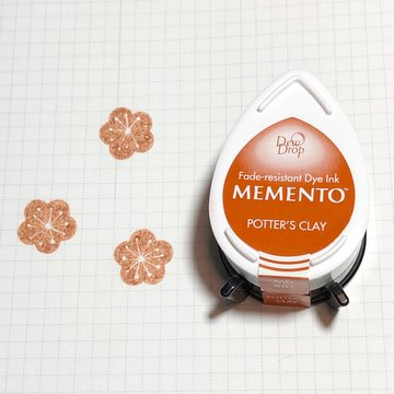 Tsukineko Memento Dew Drop Ink Pad - Potter's Clay