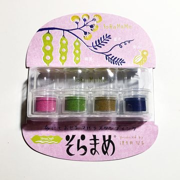 Tsukineko Soramame ink pad 4pcs set / High Collar