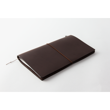 Traveler's Company Traveler's Notebook Regular Brown