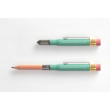 Traveler's Company Limited Edition Brass Factory Green - Pencil