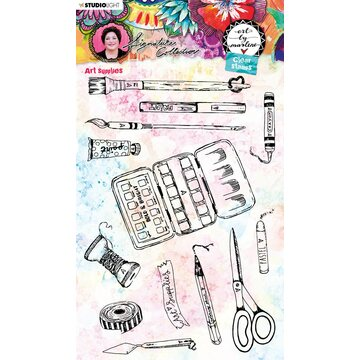 Studio Light Rubberstamp Set Art by Marlene Art Supplies