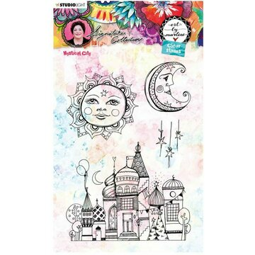 Studio Light Rubberstamp Set Art by Marlene Mystical City