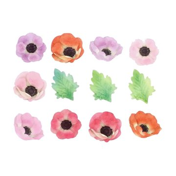 Bande Washi Roll Sticker Anemone