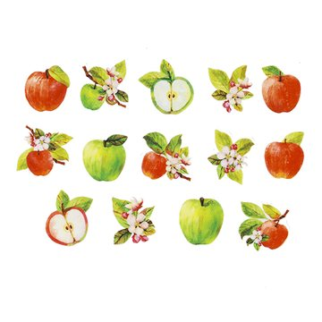 Bande Washi Roll Sticker Apple