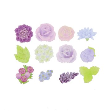 Bande Washi Roll Sticker Rose Bouquet