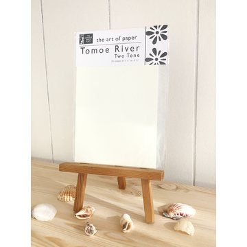 "Japanese Paper Place Tomoe River Paper ""A5"" Cream+White 30 sheets"