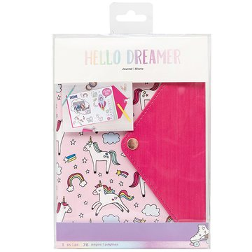 American Crafts Hello Dreamer Unicorn Journal