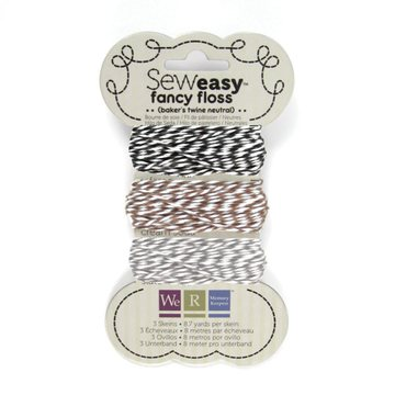 American Crafts We R Memory Keepers Baker`s Twine neutral colors