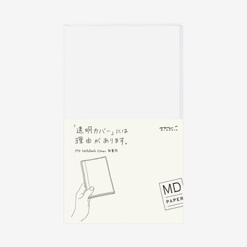 Midori MD Notebook B6 slim Clear COVER