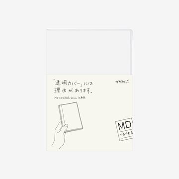 Midori MD Notebook A6 Clear COVER
