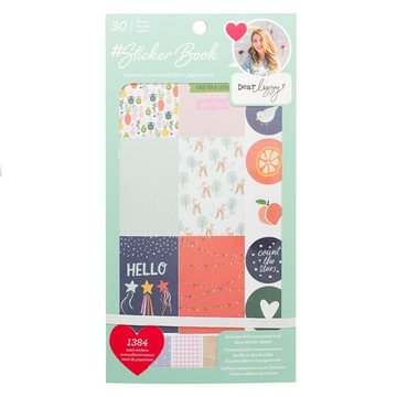 American Crafts Dear Lizzy 30 pages Sticker Book