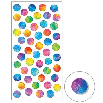 Mind Wave Space Ombre Dots Masking Sticker