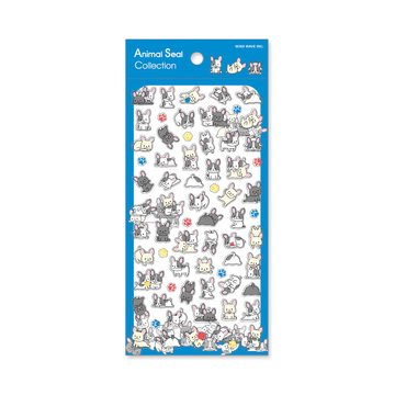 Mind Wave Stickers Dog Animal Seal Collection