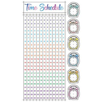 Pinebook Masking Stickers Time Schedule