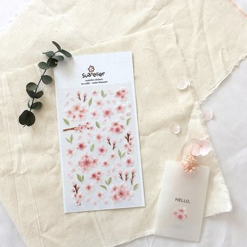 Suatelier Stickers no. 1086 Water Blossom