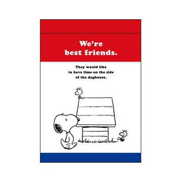 Snoopy A7 Memo Pad Dog House