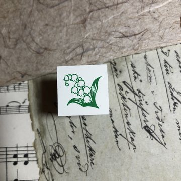 Kodomo no kao Rubberstamp Lily of the Valley