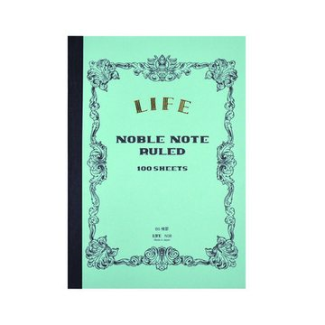 Life B5 Noble Note Ruled