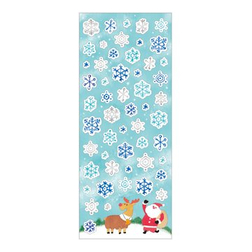 Mind Wave Winter Selection Snowflakes Sticker Silver Foil